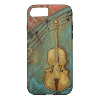 Mello Cello iPhone 7 Case, Tough iPhone 8/7 Case