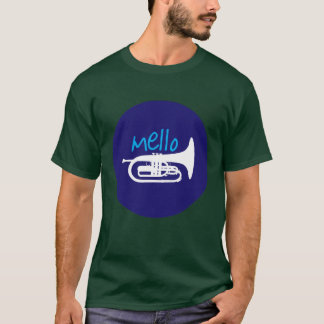 """Mello"" Forest Green T-Shirt"