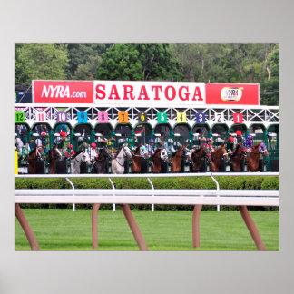Mellon Turf - Saratoga Race Course Poster