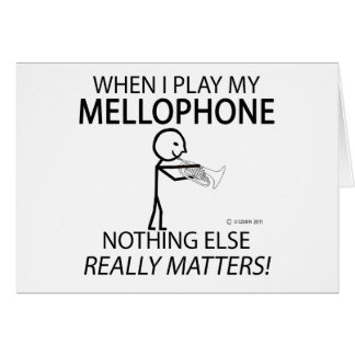 Mellophone Nothing Else Matters Greeting Card