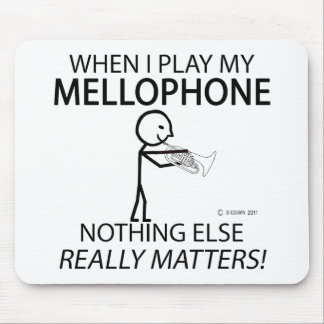 Mellophone Nothing Else Matters Mouse Pad