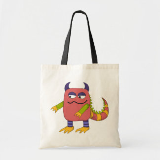 Mellow Monster Budget Tote Bag
