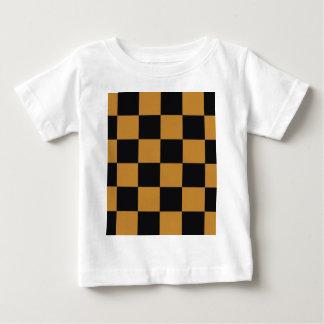 Mellow Mustard Checkerboard Baby T-Shirt