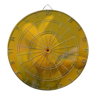 Mellow Yellow Dartboard With Darts
