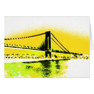 Mellow Yellows Bridge card