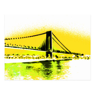 Mellow Yellows Bridge postcard