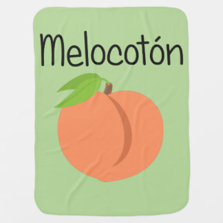 Melocoton (Peach) Baby Blanket