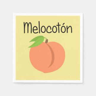 Melocoton (Peach) Paper Napkins