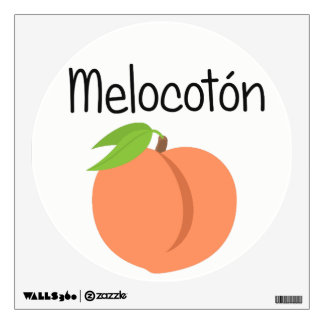 Melocoton (Peach) Wall Decal