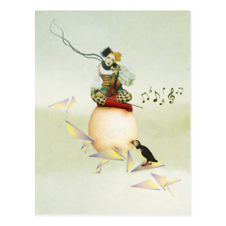 Melodica Postcard