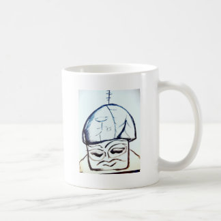 Melodies of Monochromatic Mushroommen Coffee Mug