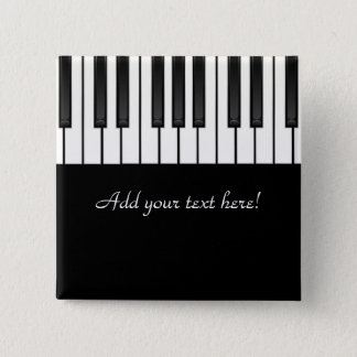 Melody Collection 2 Inch Square Button