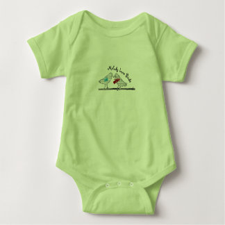 Melody Love Birds - Baby undershirt Baby Bodysuit