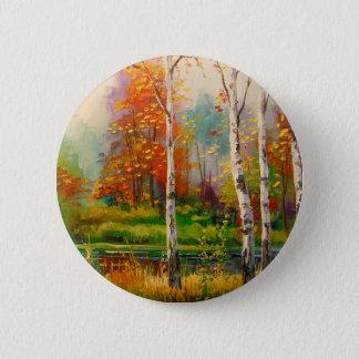 Melody of autumn 2 inch round button