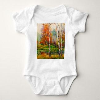 Melody of autumn baby bodysuit