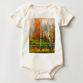 Melody of autumn baby bodysuit