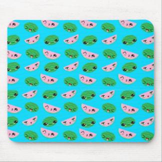Melon Background Mouse Pad