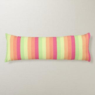 Melon Ball Striped Pattern Body Pillow