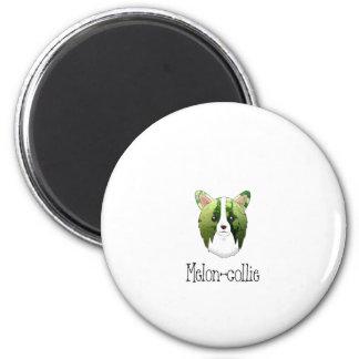 melon collie 2 inch round magnet