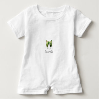 melon collie baby romper