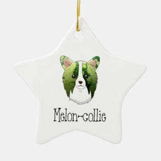 melon collie ceramic star ornament