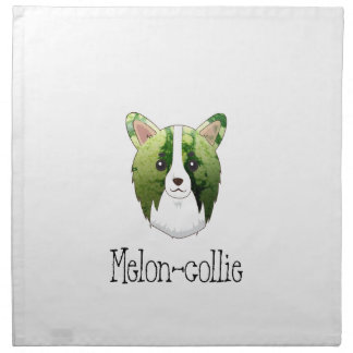 melon collie napkin