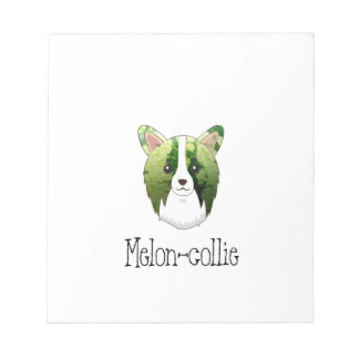 melon collie notepad