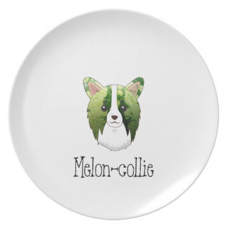 melon collie plate