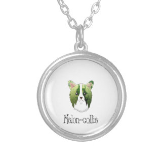 melon collie silver plated necklace
