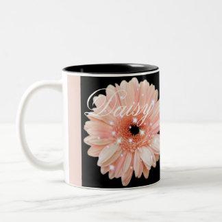 Melon Daisy Sparkle Coffee Mug