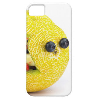 Melon Easter bunny filled with summer fruit iPhone 5 Cover