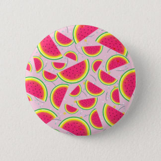 Melon Fiesta Pattern 2 Inch Round Button