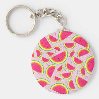 Melon Fiesta Pattern Keychain