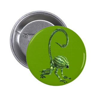 Melon Head Creature 2 Inch Round Button