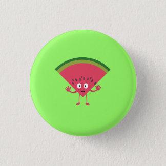 melon man 1 inch round button