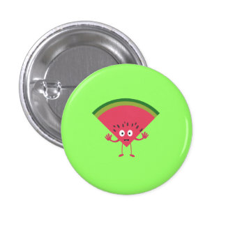 melon man 1 inch round button
