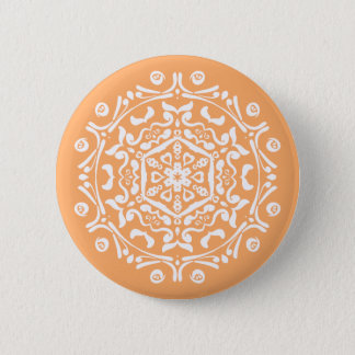 Melon Mandala 2 Inch Round Button