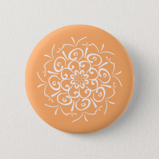 Melon Mandala 2 Inch Round Button
