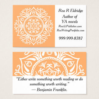 Melon Mandala Business Card