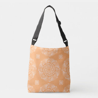 Melon Mandala Crossbody Bag