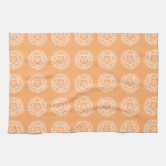 Melon Mandala Kitchen Towel