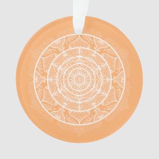 Melon Mandala Ornament