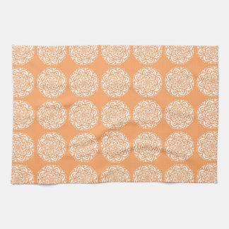 Melon Mandala Towels