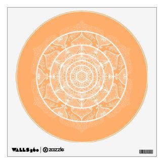 Melon Mandala Wall Sticker