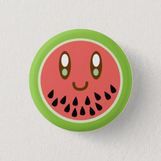 Melonface Luvs You Button