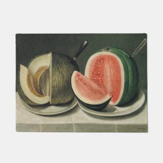 """""""Melons"""" art door mat"""