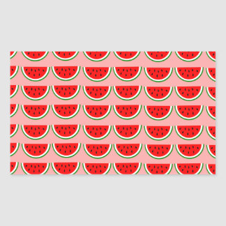 Melons samples rectangle sticker