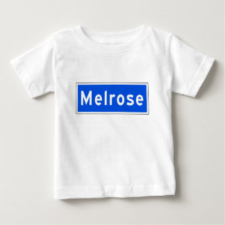 Melrose Avenue, Los Angeles, CA Street Sign Baby T-Shirt