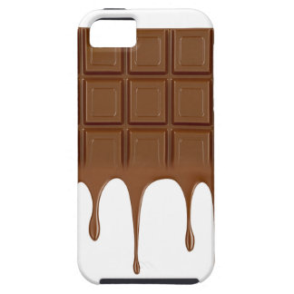 Melted chocolate bar iPhone 5 covers