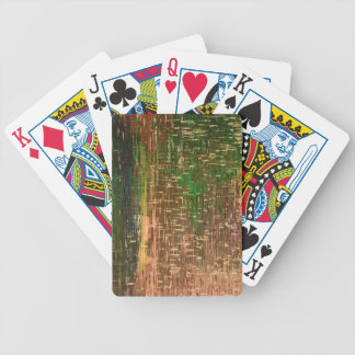 Melted Crayons Designer Playing Cards